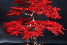 baeded tree