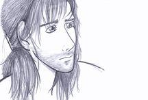 Dibujos de mis amigas