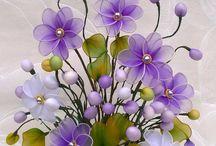цветы и капрона