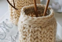 Crafts - Fiber Arts - Knit - For the Home / by Kristin