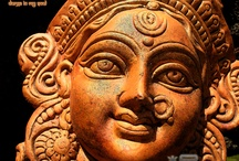 Durga / The gods couldn't kill the demon Mahisa. Only an avatar of the Devi could.