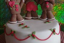 Weihnachtstorten / Christmas cakes