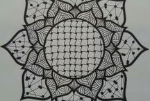 zentangle rosace