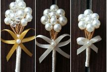 broches de perlas