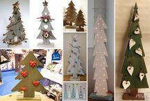 Alberi Natale legno