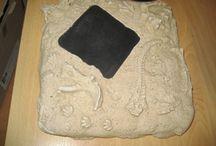 Fossiel-gipsafdrukken maken