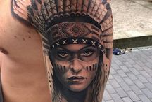 Native Indian Tattoo Reference