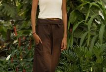 Thai Fisherman Pants / Due to their versatility, comfort and lightness, these pants were traditionally favored by Thai fishermen. They are made of streaked cotton and feature a pocket on the right leg. They are famous for being easily adjustable to different body types and shapes thanks to the drawstring waist and loose folded fabric. Fisherman pants don't use elastic, instead they are tied, folded and wrapped each time they are worn, for the perfect fit.  Material: 100% cotton Size: Freesize Shipping: Free