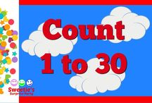Toddler Counting Videos / Learning to count is fun with Sweetie's videos!  Each video has a theme!  Enjoy learning with Sweetie!!!!