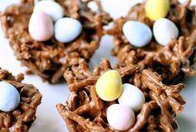 Easter  / Egg hunts with treats here and there... boy how I love this time of year!