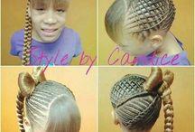 Kids hair styles / by Ceslie Stonestreet
