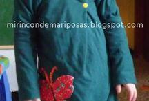 Costura niñas/os / prendas de vestir para niños/as