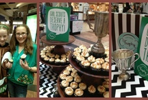Let's Party Girl Scouts!  / Girl Scouts inspired cupcakes at Trophy Cupcakes March 1 - 17, 2013! / by Trophy Cupcakes