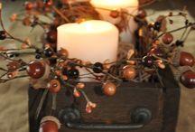 fall decorating crafts