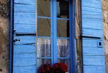 azul, como el mar azul