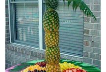 Fiesta playa o hawaiana