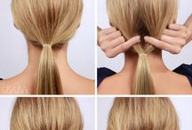 Peinados y cuidado del cabello