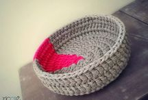 BCraft: Baskets / Mostly crochet and knitting