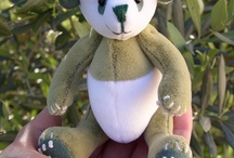 'Bamboo' - the Little Green Panda.