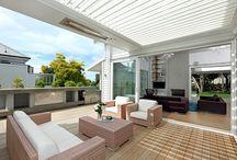 Zonwering op Villa / Zonwering op Villa's. De goede toepassing, strak design, goede inpassing in ontwerp