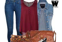 Moda / Ideas para outfits, ropa bonita y cositas de ese estilo ^^