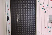 Veneer fire rated door for digital lock / Www.mydigitallock.com.sg