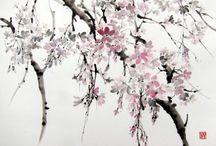 poesia sull'albero , magnolia di montale