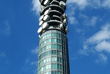 Post Office Tower / One of the most iconic buildings of the swinging sixties, sadly now not open to the public.