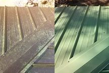 Roof Cleaning / Metal Roof Cleaning Service offered by TN Seamless Gutters