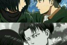 Mikasa x Levi