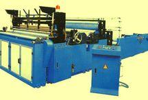 Linie automatizata utilaje procesare,protionare prosop hartie in 2 straturi si tuburi carton