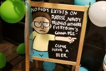 Rick and Morty party