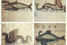 Mythical and fantasy sea creatures