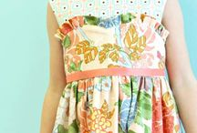 kids design dresses / very different
