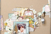 scrapbooking / Scrapbook layouts / by Paula Beckius