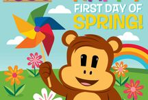 Splendiferous Spring with Julius Jr.! / Spring time fun for you and your little ones! / by Julius Jr.