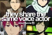 Anime voice actress