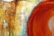 Abstrato pintura