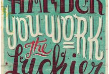 Inspiration - patterns, typography and sayings / Visual Diary of Graphic Design and sayings