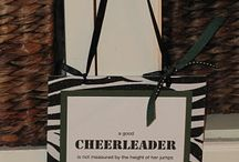 cheering / by Christine Gonneville