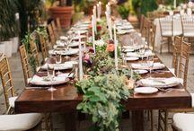 Déco mariage / Toutes nos inspirations pour une décoration de mariage unique, élégante, avant-gardiste... et pourquoi pas avec un grain de folie !