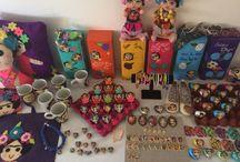 Frida Kahlo / Hand made artisan items for sale