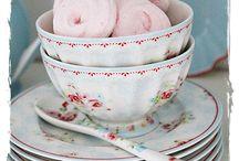 Côte vaisselle / Jolies vaisselles