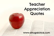 Teacher Appreciation Week Gift Ideas / Teacher Appreciation Week Gift Ideas / by afrugalchick
