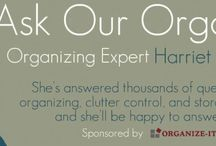 Ask Our Organizer / Got a question about getting organized or cutting the clutter? Not sure which organizing product would work best for your needs? Trying to find the right storage solution for a difficult space?   Ask Harriet–it's free & it's easy!