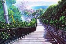 Anime environment