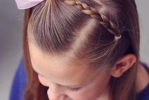 Fryzury dziewcząt