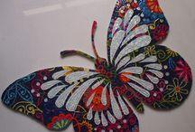Mosaics buterfly