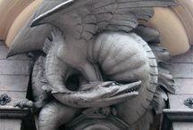 Dragon sculptures around the world