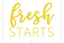 Fresh Starts & Clear Hearts
